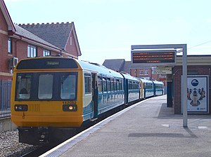 British Rail Class 142 - Arriva Trains Wales Class 142 No. 142082 at Penarth