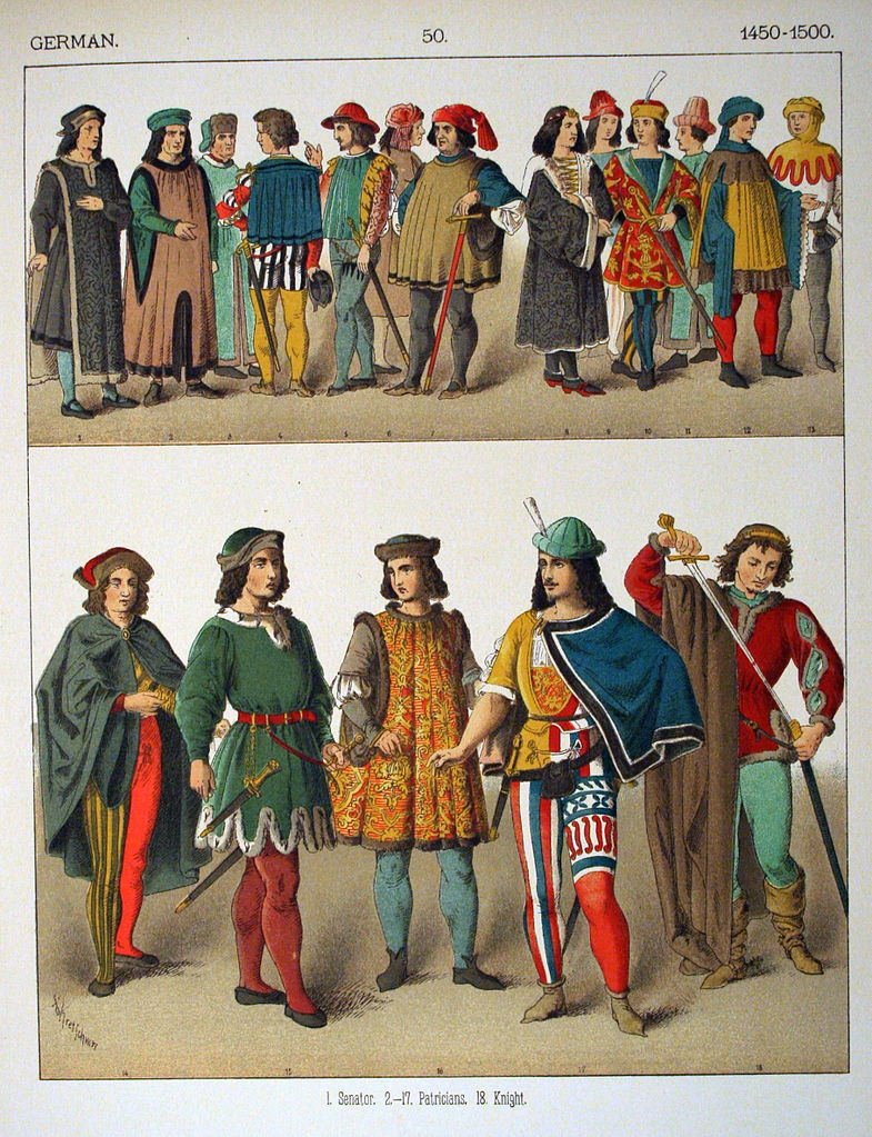 File 1450 1500 German 050 Costumes Of All Nations