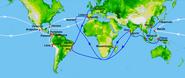 16th century Portuguese Spanish trade routes