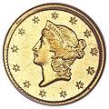 1854-D G$1 (Variety 6-H) (obv).jpg
