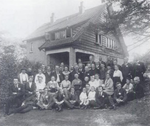 International Fellowship of Reconciliation - First international gathering of International Fellowship of Reconciliation at Bilthoven, Netherlands, in 1919.