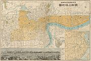 1937 World War II Japanese Map of Shanghai, China (w-photo of Bund) - Geographicus - Shanghai-uk-1932