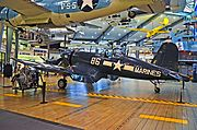 1945 Goodyear FG-1D Corsair BuNo 92246 (C-N 3507) (N766JD) (National Naval Aviation Museum) (8875901508).jpg