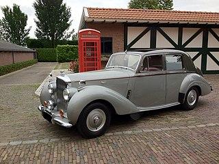 Bentley R Type car model