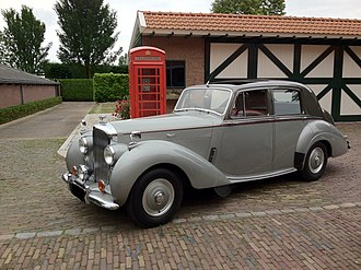 Bentley R Type - Standard steel sports saloon 1953