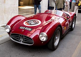 1959 World Sportscar Championship - Maserati placed fourth with its Maserati A6GCS