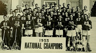 Maryland Terrapins men's lacrosse - The undefeated 1955 Maryland lacrosse team