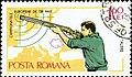 1965 European Shooting Championships, Bucharest-Rifleman-standing.jpg