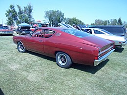 1968 Ford Fairlane 500 Fastback rear (7551277894).jpg