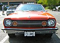 1973 Hornet hatchback V8 red MD-fv.jpg