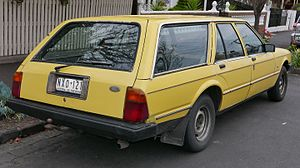 Ford Falcon (XD) - Image: 1981 Ford Falcon (XD) GL station wagon (2015 08 09) 03