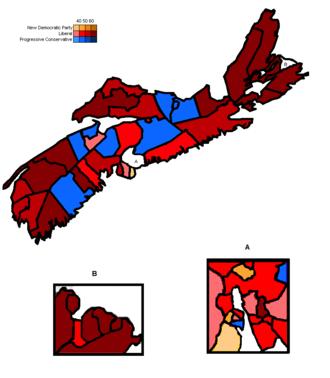 Nova Scotia general election, 1993 - Image: 1993 Nova Scotia Election