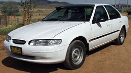 1997 Ford Falcon (EL) GLi sedan (2006-10-14).jpg