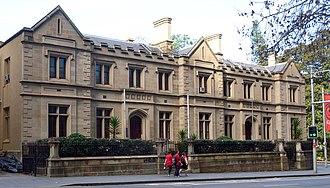 Elizabeth Street, Sydney - Image: 1 Old Registry Office