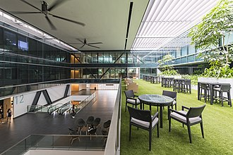 SMU School of Law - Interior of the main building