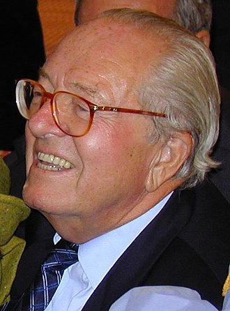 National Front (France) - Jean-Marie Le Pen (2001), the long-time leader of the FN.