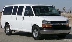 Chevrolet Express - Image: 2005 Chevrolet Express NHTSA