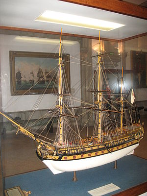 Navy Museum (Portugal) - Ship model in the Maritime Museum.