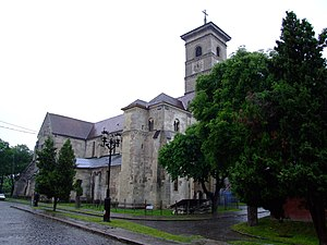 Hungarians in Romania - Image: 2006 0602Alba Iulia Catedrala Catolica 0416