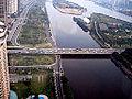 2007俯瞰广州大桥二沙岛公园 - panoramio.jpg