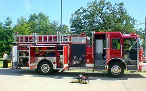 Sutphen - 2008 fire engine