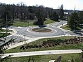 2008 03 12 - UMD - Roundabout viewed from Art Soc Bldg 3.JPG