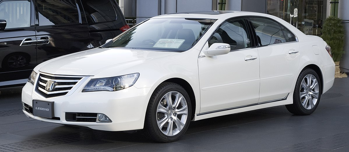 Honda Accord 2010 For Sale >> Honda Legend - Wikipedia