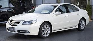 Honda Legend - Image: 2008 Honda Legend 01