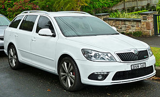 Škoda Octavia - Facelifted Škoda Octavia vRS Estate