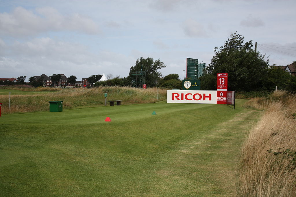 Lytham St Annes United Kingdom  City pictures : English: LYTHAM ST ANNES, UNITED KINGDOM JULY 27: 13th hole tee box ...