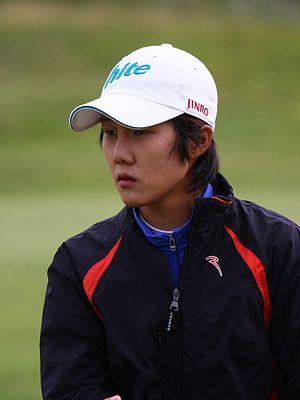 Song-Hee Kim - Kim at the 2010 Women's British Open