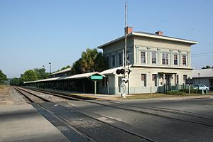 Tallahassee station - Southeast view