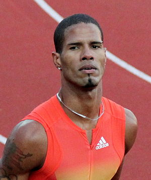 Puerto Rico at the 2008 Summer Olympics - Javier Culson, the only member of the Puerto Rican male track and field team who advanced past the first round of his event
