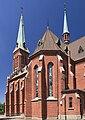 2013 Trzyniec, Stare Miasto, Kościół św. Alberta 03.jpg