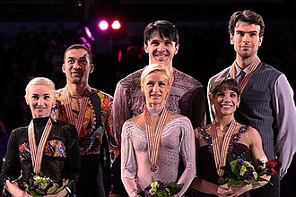 2013 World Figure Skating Championships - The pairs medalists