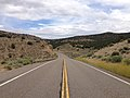 2014-08-11 13 54 09 View east along U.S. Route 50 about 22.7 miles east of the Eureka County line in White Pine County, Nevada.JPG
