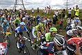 2014 Tour de France stage 2, near Littleborough (peloton)(4b).JPG