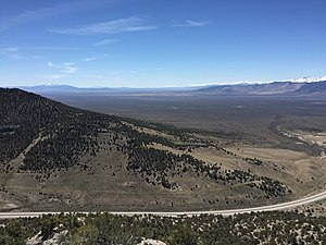 Independence Valley fault system - Independence Valley in northeastern Nevada