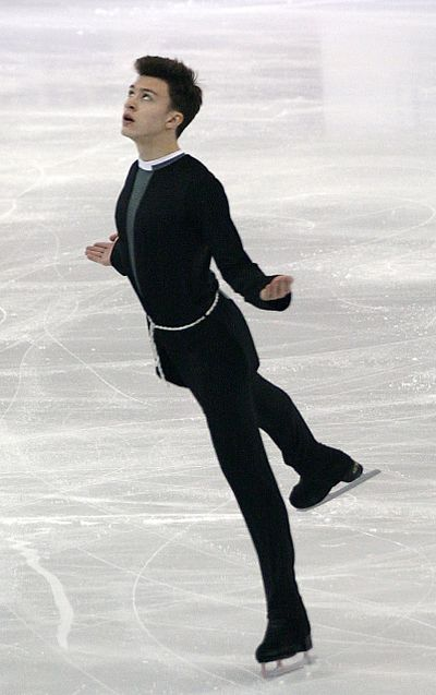 Dmitri Aliev had scored twice above 240 points and three times above 232 points. Thrice he had scored above 80 points in the short program.