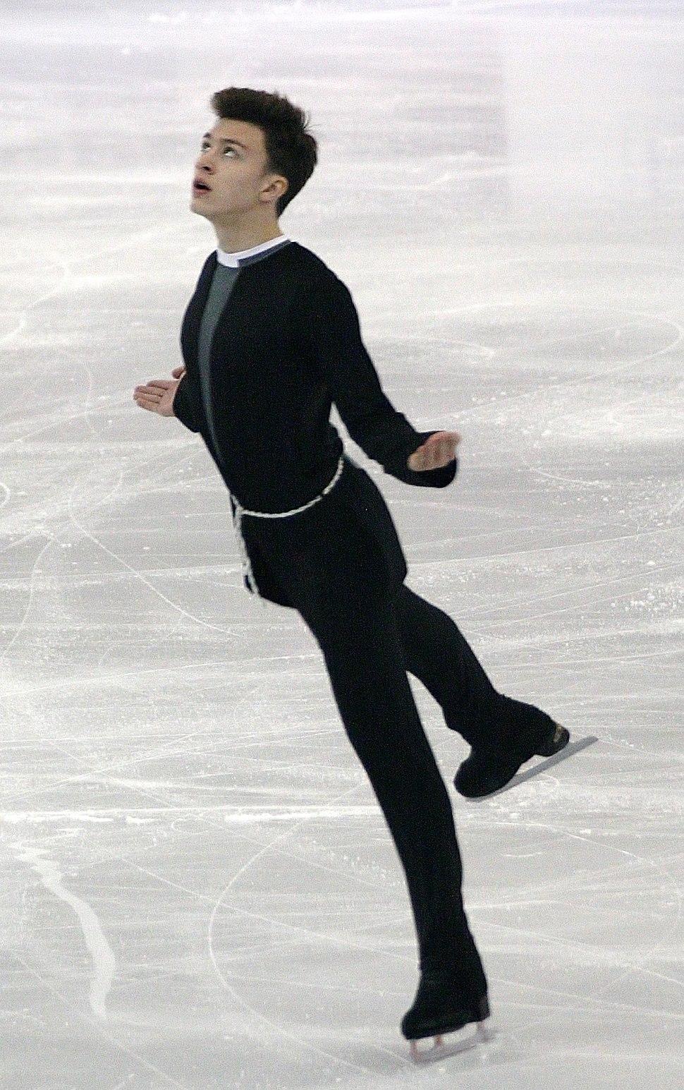 2015 ISU Junior Grand Prix Final Dmitri Aliev IMG 8301
