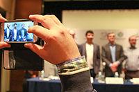 2015 Wikimania press conference - JS - 13.jpg