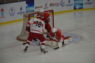 Hong Kong men's national ice hockey team - Hong Kong and Turkey during the 2016 World Championship Division III. Turkey won the match 5-1.