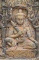 2016 Angkor, Angkor Thom, Taras Trędowatego Króla (02).jpg