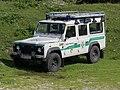 2017-07-22 (36) Land Rover Defender of Österreichischer Bergrettungsdienst Lunz am See at Ybbstaler Hütte at Dürrenstein (Ybbstaler Alpen).jpg