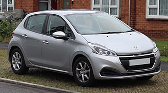 PSA Mulhouse Plant - French Production of the Peugeot 208 is shared between Mulhouse and Poissy.