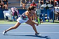 2017 US Open Tennis - Qualifying Rounds - Jamie Loeb (USA) def. Vera Zvonareva (RUS) (36903004942).jpg