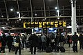 2017 at Paddington station - concourse in the evening.JPG
