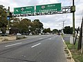 2018-10-01 16 19 22 View north along U.S. Route 130 (Crescent Boulevard) just south of New Jersey State Route 168 (Black Horse Pike-Mount Ephraim Avenue) in Camden, Camden County, New Jersey.jpg