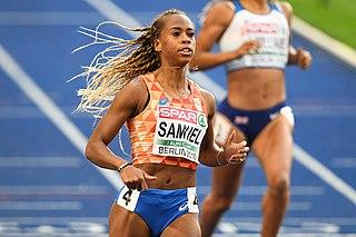 Jamile Samuel Dutch sprinter