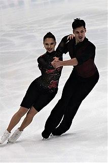 Andrei Bagin Russian ice dancer
